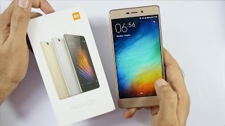 Redmi 3s Prime .. UNBOXING .. FLASH TEST . BOUGHT from AMAZON SALE @6650