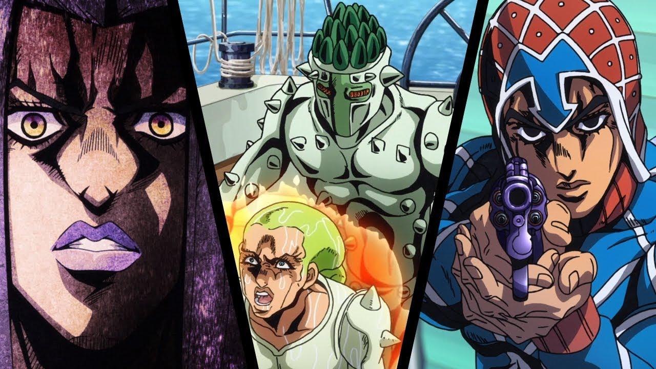 JoJo's Bizarre Adventure: Golden Wind / Vento Aureo Anime Episodes 5-7  Review