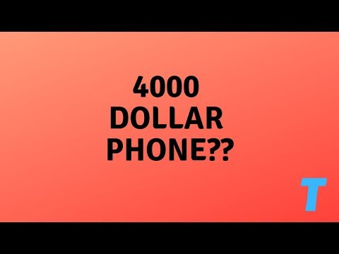 Thank TOS It's Friday - $4000 Phone??