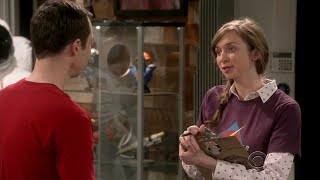 The Big Bang Theory - Stuart hires a female assistant manager Denise