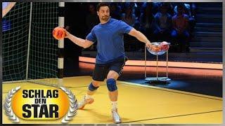 Spiel 6: Handball - Schlag den Star
