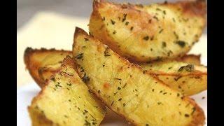Картошка  в духовке к празднику! Картошка ломтиками. Картошка запеченная.