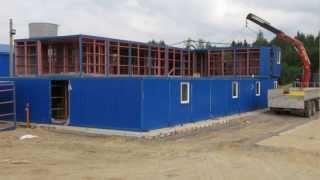 Монтаж модульного здания(Компания «Диаком» осуществляет производство блок контейнеров и монтаж модульных зданий по всей территори..., 2013-10-16T23:34:57.000Z)