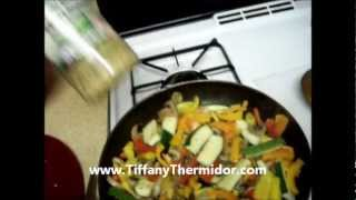 Fresh Sauteed Vegetable Blend With Penne Pasta