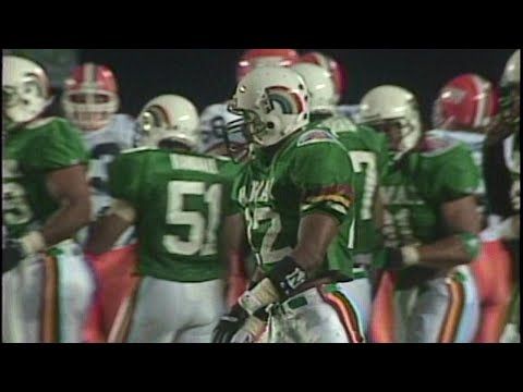 1992 Hawaii Sports Final - Rainbow Football Season review