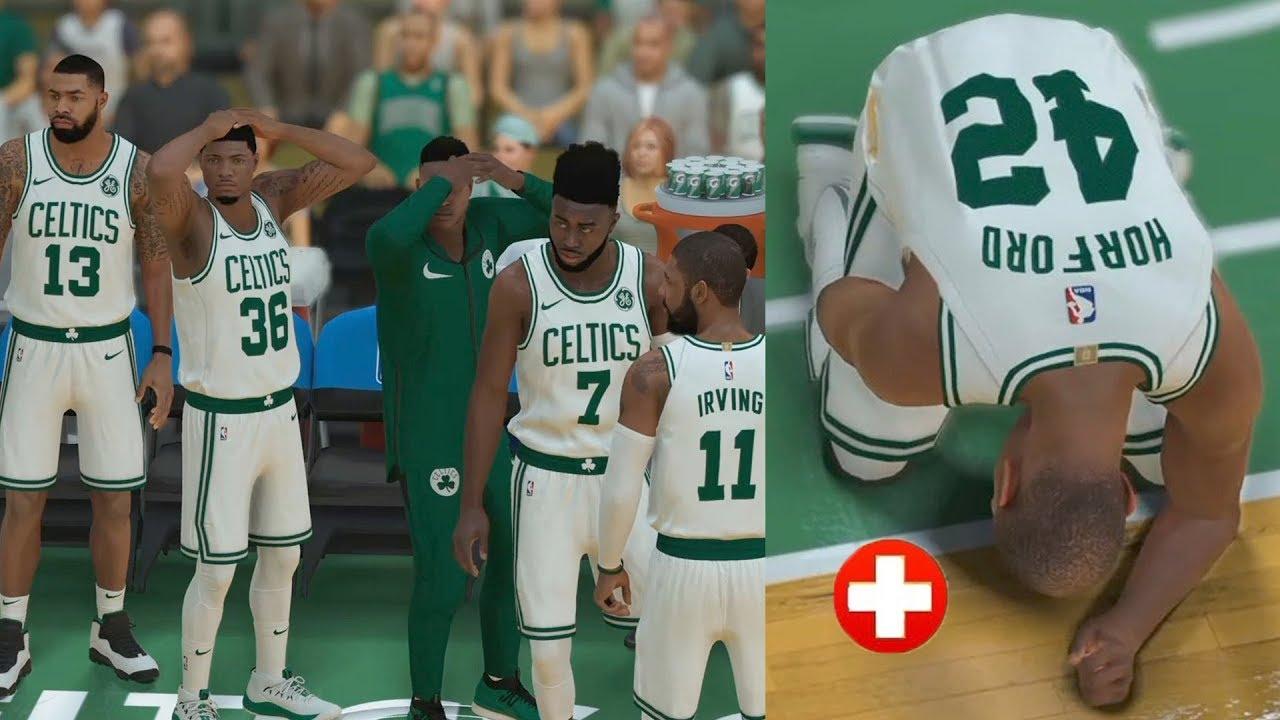 Lebron Made Me Injure Him! Lakers vs. Celtics | NBA 2K19 MyCareer Ep. 24