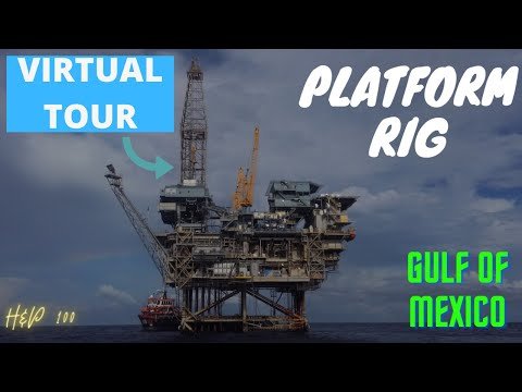 VIRTUAL TOUR OF AN OFFSHORE DRILLING RIG (GULF OF MEXICO)
