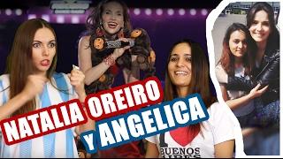 Angelica habla sobre ARGENTINA: NATALIA OREIRO Parte 2