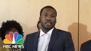 Rapper Meek Mill Calls For Criminal Justice Reform | NBC News