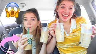 testing EVERY ICED COFFEE from fast food restaurants ... *shook*