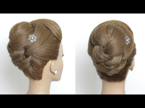 High Bridal Updo Hairstyles For Long Medium Hair