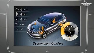 Mercedes A-class the driving assistance systems #mercedesaclass