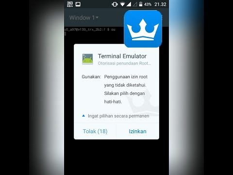 Cara Termudah Root Semua Android [Tested Evercoss A74A]
