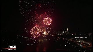 National Mall Fireworks: Thousands brave heat for stunning July Fourth  fireworks display in DC