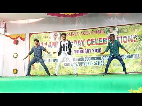 Ramcharan Songs Dance By My Besties ¦ Laila O Laila Song (Nayak) And Freedom #tarun #Vinay #tejkiran