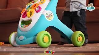 Készségfejlesztő járássegítő Cotoons Smoby hang és