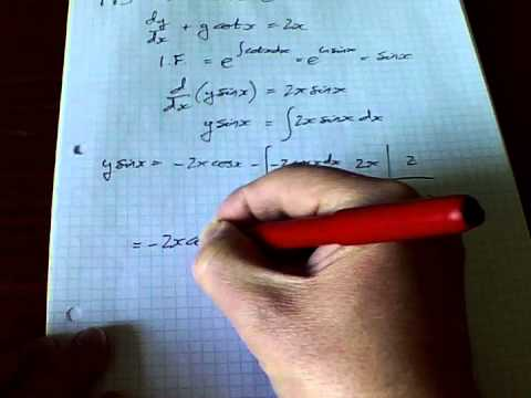 FP3 June 12 Q3 OCR First Order Differential Equations