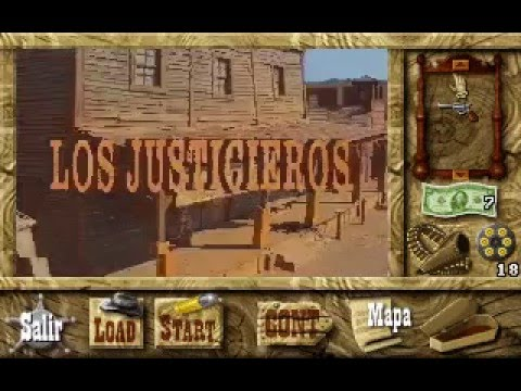 Gameplay de Los Justicieros (Picmatic - Dinamic Multimedia, 1996 - PC)