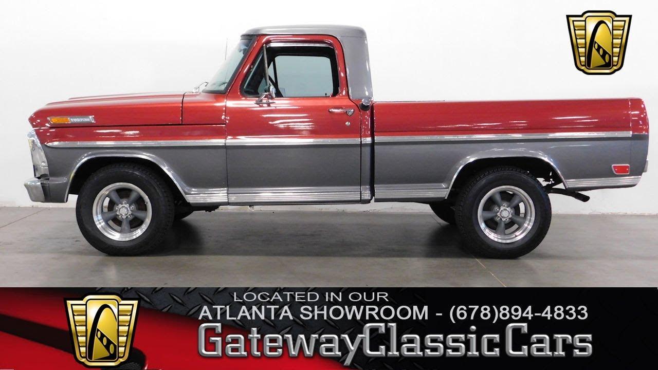 1969 ford f100 pick up gateway classic cars of atlanta 535