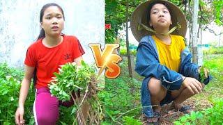 Cô Nàng Lười Nhác ❤ Cô Gái Chăm Chỉ   Trang Vlog