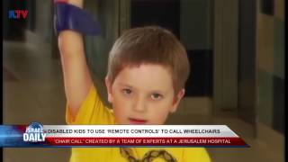 Disabled Children Can Use Remote Controls to Call Wheel Chairs