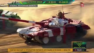 Российские экипажи узнали своих соперников по танковому биатлону