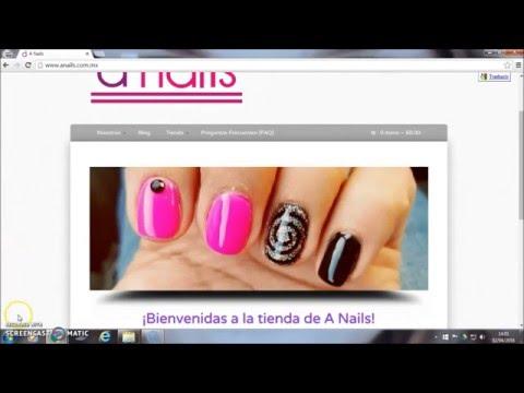 Compra en línea en solo 10 pasos Tienda A Nails