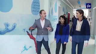 الملكة رانيا العبد الله تلتقي عدداً من معلمي محافظات الجنوب