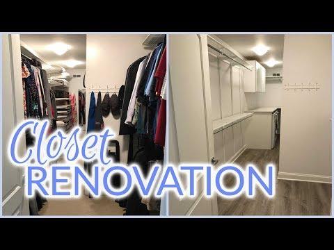 Closet Renovation | Laundry Room Addition | Spring 2017