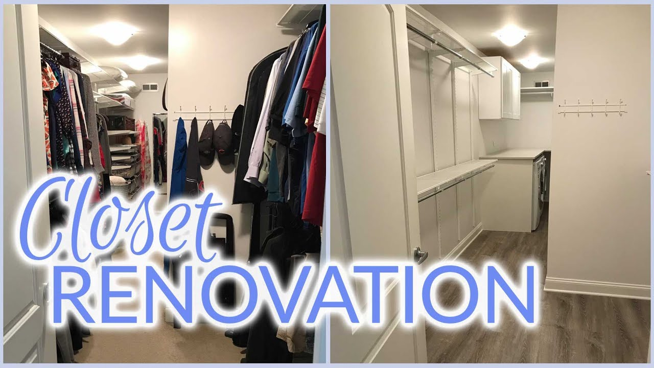 Closet Renovation | Laundry Room Addition | Spring 2017