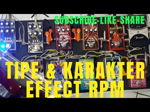 Ceksound beberapa jenis distorsi RPM