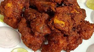 सुपर टेस्टी क्रिस्पी फ्राइड चिकन बनाए घर पर आसान तरीके से/Homemade fried Chicken/Simple fried chiken