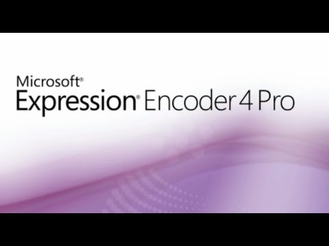How To Record Your PC Screen With Microsoft Expression Encoder 4 --- Win7/Win Vista/Win XP (SP3)