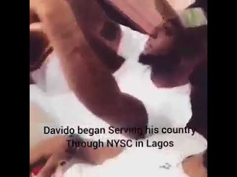 Davido resumes NYSC with 2018 Batch B stream two corps members
