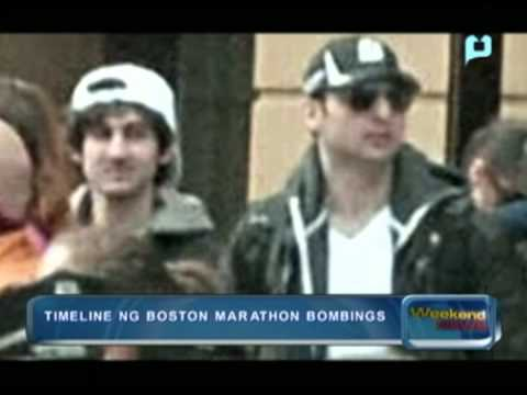 Timeline ng Boston Marathon bombings