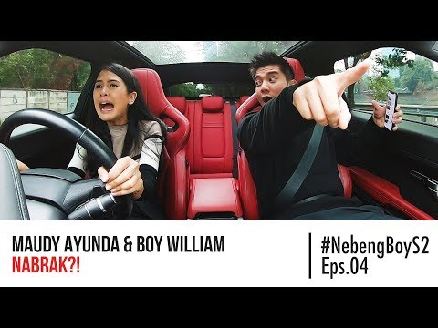 Maudy Ayunda HAMPIR NABRAK Nyupirin Boy William - #NebengBoy S2 Eps. 4