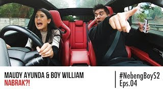 #NebengBoy S2 Eps. 4 - Maudy Ayunda HAMPIR NABRAK Nyupirin Boy William