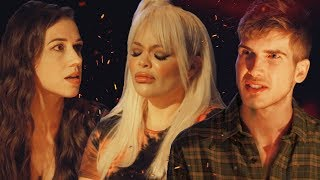 Colleen Ballinger & Trisha Paytas Speak Their TRUTH Campfire Kiki