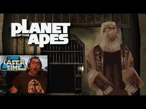 Planet of the Apes - 2001 PS1 gameplay [100% Burton-Free!]