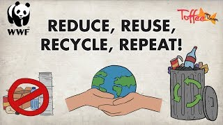 Reduce, Reuse, Recycle, Repeat | Recycling Ideas For Kids | Toffee TV