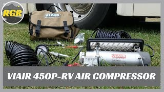 VIAIR 450-RV Portable Automatic Air Compressor  | Product Review | Quickly & Easily Inflates Tires