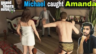 Michael Catch Amanda In Bed with The Tennis Coach GTA 5 Story Mission north east ka londa