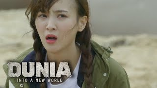"Jung Hye Sung is Laughing in Disbelief!! ""Is this a dream?"" [DUNIA : Into A New World Ep1]"