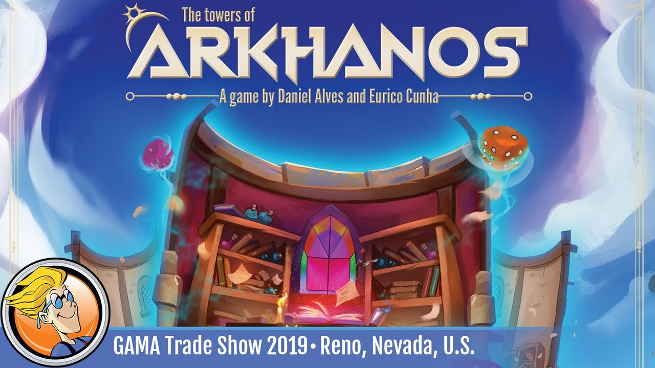 The Towers of Arkhanos — game overview at GAMA Trade Show 2019