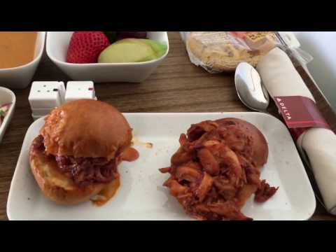 Delta Airlines First Class on B717-200 Los Angeles to Seattle DL129