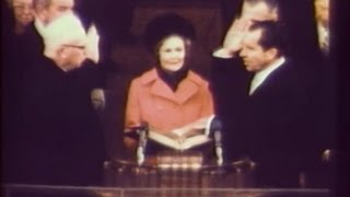 Jan. 20, 1969: Inaugural Ceremonies for Richard M. Nixon