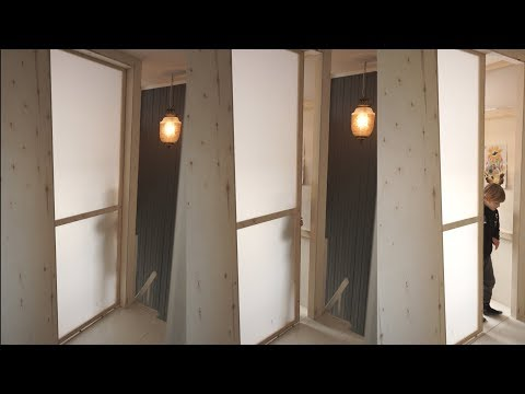 Making A Sliding Transparent Door