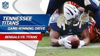 Tennessee Pulls Off Amazing Game-Winning Drive vs. Cincinnati! | Bengals vs. Titans | NFL Wk 10