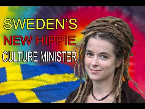 The new Swedish Culture Minister...