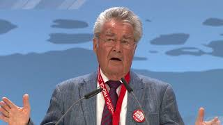 Heinz Fischer am PRO-GE Gewerkschaftstag